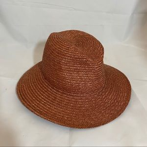 Vintage Italian Red Brown Hat from Nordstrom